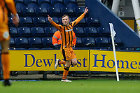Jarrod Bowen of Hull City celebrates his goal during Preston North End vs Hull City, Sky Bet EFL Championship Football at Deepdale on 3rd February 2018