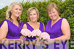 Bridesmaids att Liz Brosnan and ken Lennons wedding on Friday in St Brendans Church, Curraheen, Blennervill l-r: Clodagh Brosnan, Siobhan Lynch and Angela Brosnan..