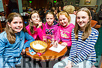 Enjoying the Table Quiz in aid of the Girl Guides at the Na Gaeil on Friday were Nora Cadogan, Hannah Mitchell, Shauna Harris, Sive Cadogan, Aoife Moynihan