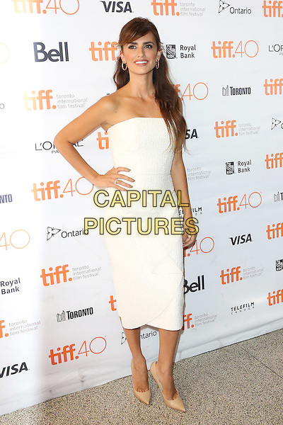 Penelope Cruz attends the premier of 'Ma Ma' during the 2015 Toronto International Film Festival at The Elgin on September 15, 2015 in Toronto, Canada.<br /> CAP/NW<br /> &copy;Nick Watts/Capital Pictures