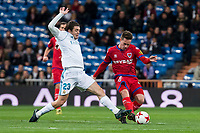 Real Madrid Mateo Kovacic and CD Numancia Pere Milla during King's Cup match between Real Madrid and CD Numancia at Santiago Bernabeu Stadium in Madrid, Spain. January 10, 2018. (ALTERPHOTOS/Borja B.Hojas) /NortePhoto.com NORTEPHOTOMEXICO