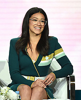 """PASADENA, CA - JANUARY 31: Gina Rodriguez attends """"A Final Farewell to Jane the Virgin"""" during the CW portion of the 2019 Television Critics Association Winter Press Tour at the Langham Huntington on January 31, 2019, in Pasadena, California. (Photo by Frank Micelotta/PictureGroup)"""