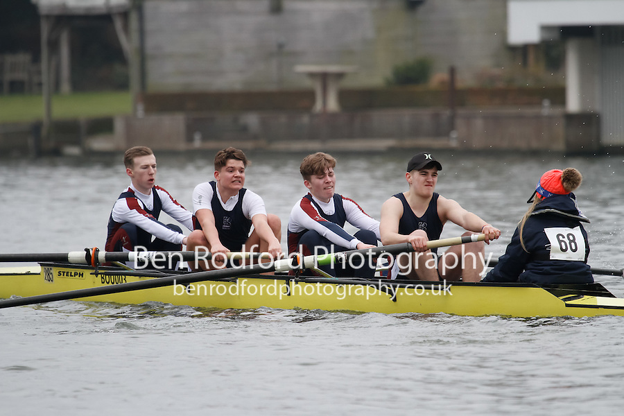 Crew: 68 - Bournemouth Univ  - NOV.4+ <br /> <br /> Henley Fours &amp; Eights Head 2017<br /> <br /> To purchase this photo, or to see pricing information for Prints and Downloads, click the blue 'Add to Cart' button at the top-right of the page.