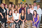 KEY TO THE DOOR: Ciara Coakley, Miltown celebrating her 21st birthday with big crowd of family and friends at O'Shea Bar Miltown on Saturday seated l-r: Sinead, Margaret, Ciara, John and Claire Coakley Back l-r: Denise O'Sullivan, Breda Clancy, Siobhan O'Brien, Greta O'Sullivan, Kerry Hayes, Emer Quirke, Muria Cannife, Edwina Evans, Aine White, Mary and Colm Spring and Noreen Coffey..   Copyright Kerry's Eye 2008