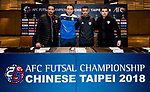 Pre-Match Press Conference - AFC Futsal Championship Chinese Taipei 2018
