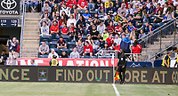 Chester, PA - Monday May 28, 2018:  Signboards during an international friendly match between the men's national teams of the United States (USA) and Bolivia (BOL) at Talen Energy Stadium.