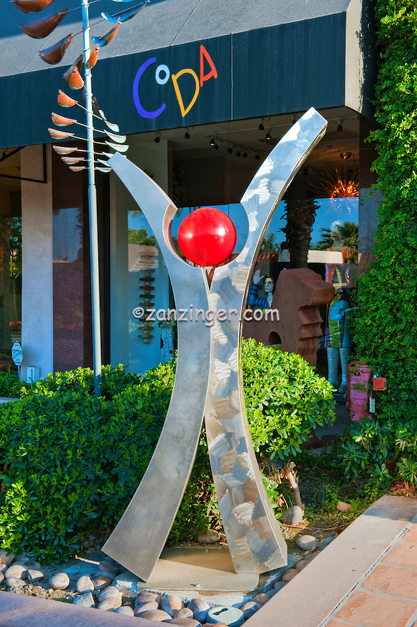 Coda Art Gallery, El Paseo Drive, Palm Desert, CA, modern, contemporary art, sculpture, painting, glass, objects, extraordinary, colorful, energy , Art Sculptures, statue, Public Art, Statues. CA; California;