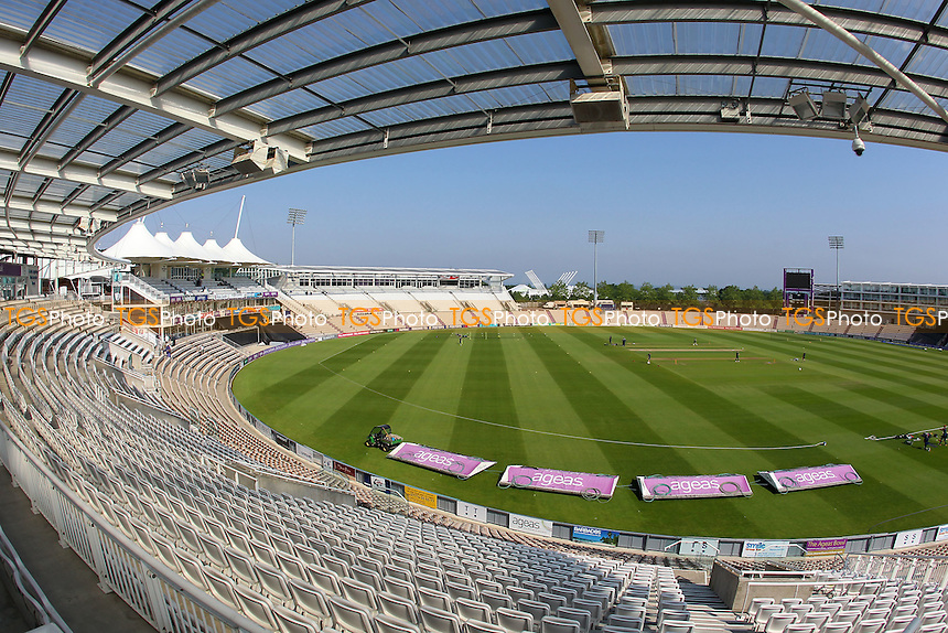 General view of the ground ahead of Hampshire vs Essex Eagles, Royal London One-Day Cup Cricket at the Ageas Bowl on 5th June 2016
