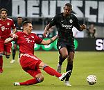 12.08.2018, Commerzbank - Arena, Frankfurt, GER, Supercup, Eintracht Frankfurt vs FC Bayern M&uuml;nchen , <br />DFL REGULATIONS PROHIBIT ANY USE OF PHOTOGRAPHS AS IMAGE SEQUENCES AND/OR QUASI-VIDEO.<br />im Bild<br />Niklas S&uuml;le (M&uuml;nchen), Sebastien Haller (Frankfurt)<br /> <br /> Foto &copy; nordphoto / Bratic