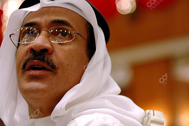 Sheikh Khaled al Khalifa, a member of the Shura Council, Bahrain's Upper House, photographer in Manama, the Bahraini capital, December 19, 2005.