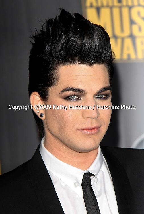 Adam Lambert.The 2009 American Music Awards - Arrivals.Nokia Theatre L.A. Live.Los Angeles, CA.November 22, 2009.©2009 Hutchins Photo....