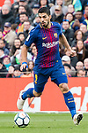 Luis Alberto Suarez Diaz of FC Barcelona in action during the La Liga 2017-18 match between FC Barcelona and Getafe FC at Camp Nou on 11 February 2018 in Barcelona, Spain. Photo by Vicens Gimenez / Power Sport Images