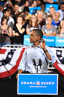 President Obama kicks off his 2012 Presidential Campaign at the Schottenstein Center on the Campus of The Ohio State University, Columbus, OH. May 5, 2012