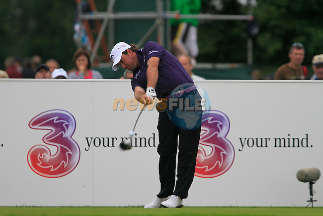 Graeme McDowell tees off on the 13th tee during Day 2 of the 3 Irish Open at the Killarney Golf & Fishing Club, 30th July 2010..(Picture Eoin Clarke/www.golffile.ie)