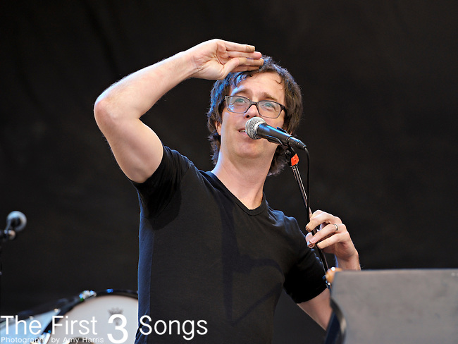 Ben Folds performs during day two of the Dave Matthews Band Caravan at Lakeside on July 9, 2011 in Chicago, Illinois.