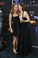 "06 June 2019 - Hollywood, California - Clara Rugaard, Hilary Swank. Netflix's ""I Am Mother"" Los Angeles Special Screening held at Arclight Hollywood .    <br /> CAP/ADM/BT<br /> ©BT/ADM/Capital Pictures"