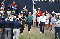 Brooks Koepka (USA) walks to the trophy presentation after winning the 100th PGA Championship at Bellerive Country Club, St. Louis, Missouri, USA. 8/12/2018.<br /> Picture: Golffile.ie | Brian Spurlock<br /> <br /> All photo usage must carry mandatory copyright credit (&copy; Golffile | Brian Spurlock)