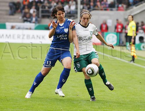 15 05 2010   DFB Cup Women Final FCR Duisburg versus UPS Jena. Rhein Energie Stadium Cologne. Sylvia Arnold  Shingle Cologne women