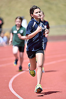 Action from the Wellington Regional Primary Schools athletics at Newtown Park, Wellington, New Zealand on Tuesday 2 December 2014.<br />