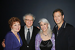 Anita Gillette (Another World) & Sheldon Harnick (Bway Lyrcist and special guest) & Jamie deRoy & Kevin Spirtas (Days of Our Lives) at Jamie deRoy & Friends Cabaret as they sing Tony Award winning musicals on May 1, 2010 as Primary Stages 59E59 Theaters celebrate their 25th anniversary - New York City, New York. (Photo by Sue Coflin/Max Photos