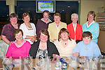 GREYHOUND FUN: Member's of the Rockchapel I.C.A. enjoying a great time at the Kingdom Greyhound Stadium on Friday seated l-r: Eily Carroll, Ann Brosnan, Lynn Montague and Mags Casey. Back l-r: Mary Sheehan, Ann Keogh, Mary Nolan, Julia Mary Murphy, Kathleen Barry and Mary Nolan.