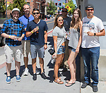 A photograph taken during the Reno Wine Walk in downtown Reno on Saturday, June 17, 2017.
