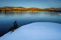 Pharoah Lake At Sunset, Adirondack Forest Preserve, New York