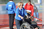 IPC European Athletics Championship 2014<br /> Volunteer<br /> Swansea University<br /> 19.08.14<br /> ©Steve Pope-SPORTINGWALES