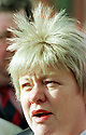 Archive Picture. The Northern Ireland Secretary of State Mo Mowlam answers media questions at Stormont Castle Buildings, Belfast, Northern Ireland, Thursday, April 9 1998,  as the talks began to face this  todays important deadline. Photo/Paul McErlane Photography