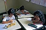 Sala de aula em escola pública. Morrinhos, Goiás. 2000. Foto de Juca Martins.