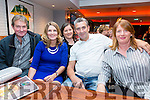 Pictured at the Strictly Come Dancing event in aid of Dromid GAA on Saturday night in the Sea Lodge were l-r; Johnny Coffey, Aoife Fitzgerald, Paula O'Sullivan, Paul O'Sullivan & Colette O'Sullivan.