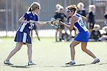 Santa Barbara, CA 02/14/09 - Melissa Nash (BYU33) and Ashley Antoon-Algieri (36)