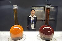 - Milano, Esposizione Mondiale Expo 2015, padiglione Vinitaly dei vini italiani<br /> <br /> - Milan, the World Exhibition Expo 2015, Vinitaly pavilion of Italian wines