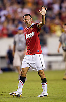 Ryan Giggs. Manchester United defeated Philadelphia Union, 1-0.