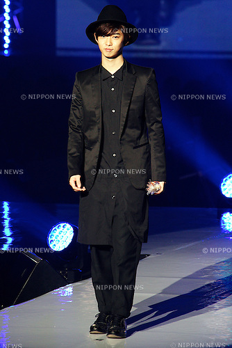 Yudai Chiba (Tokyo Runway 2015 Spring / Summer) on February 14, 2015, Yokohama, Japan : Actor Yudai Chiba attends the Tokyo Runway 2015 Spring / Summer fashion event at the Yokohama Arena. Tokyo Runway brings together top models and celebrities and over 30 fashion brands. Over 18,000 fans visit the fashion event. (Photo by Rodrigo Reyes Marin/AFLO)