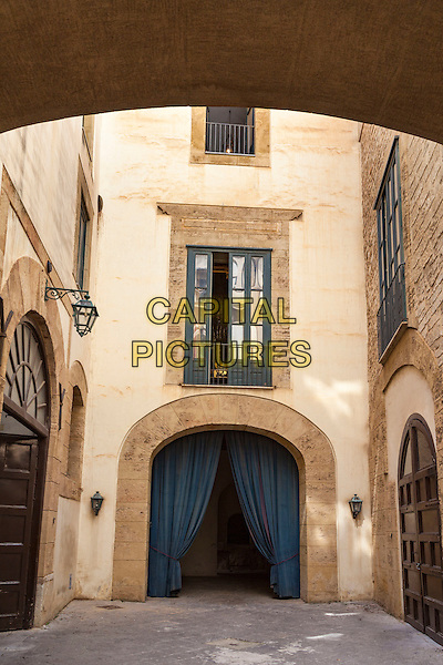 A courtyard, Palazzo Mirto Museum, Palermo, Sicily, Italy<br /> August 2015<br /> CAP/MEL<br /> &copy;MEL/Capital Pictures