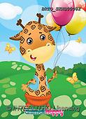 Alfredo, CUTE ANIMALS, LUSTIGE TIERE, ANIMALITOS DIVERTIDOS, paintings+++++,BRTOSKNB00082,#ac#, EVERYDAY,giraffe