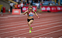 Coventry Godiva Harriers finish 4th in the 4x100m Realay Women - Connect: Connect Under 20 during the Muller Grand Prix Birmingham Athletics at Alexandra Stadium, Birmingham, England on 20 August 2017. Photo by Andy Rowland.