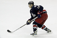 16 January 2006: Columbus Blue Jackets' Duvie Westcott plays against the New York Rangers at Nationwide Arena in Columbus, Ohio.<br />