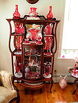 Cranberry glass collection
