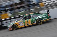 May 4, 2007; Richmond, VA, USA; Nascar Nextel Cup Series driver Sterling Marlin (14) during practice for the Jim Stewart 400 at Richmond International Raceway. Mandatory Credit: Mark J. Rebilas