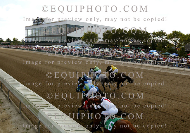 Racing at Philadelphia Park in Bensalem, PA <br />