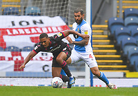 Blackburn Rovers' Bradley Johnson battles with Reading's Andy Rinomhota<br /> <br /> Photographer Dave Howarth/CameraSport<br /> <br /> The EFL Sky Bet Championship - Blackburn Rovers v Reading - Saturday 18th July 2020 - Ewood Park - Blackburn<br /> <br /> World Copyright © 2020 CameraSport. All rights reserved. 43 Linden Ave. Countesthorpe. Leicester. England. LE8 5PG - Tel: +44 (0) 116 277 4147 - admin@camerasport.com - www.camerasport.com