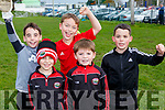 Glenbeigh/Glencar  Cormac Clifford, Max O'sullivan, Darragh o'Connor, Harry Murphy and Cian Clifford celebrate winning the Mid Kerry final in Killorglin on Sunday