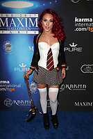 LOS ANGELES, CA - OCTOBER 21: Sharna Burgess, at 2017 MAXIM Halloween Party at LA Center Studios in Los Angeles, California on October 21, 2017. Credit: Faye Sadou/MediaPunch /NortePhoto.com