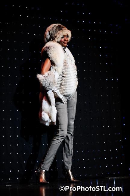 EBONY Fashion Show in St. Louis on Nov 30, 2008.