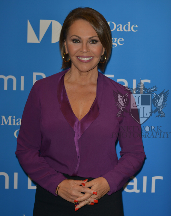 MIAMI, FL - NOVEMBER 15: Maria Elena Salinas attends The Miami Book Fair at Miami Dade College Wolfson - Chapman Conference Center on November 15, 2017 in Miami, Florida. ( Photo by Johnny Louis / jlnphotography.com )