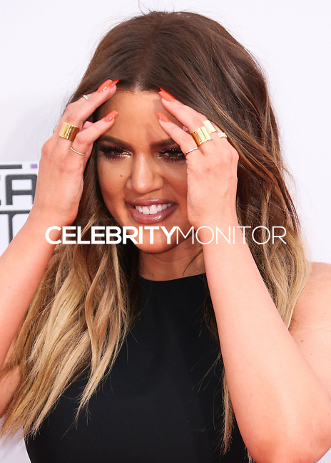 LOS ANGELES, CA, USA - NOVEMBER 23: Khloe Kardashian arrives at the 2014 American Music Awards held at Nokia Theatre L.A. Live on November 23, 2014 in Los Angeles, California, United States. (Photo by Xavier Collin/Celebrity Monitor)