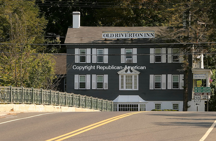 BARKHAMSTED, CT- 24 SEPTEMBER 2008 --092408JS13--The Old Riverton Inn in the Riverton section of Barkhamsted. <br /> Jim Shannon / Republican-American