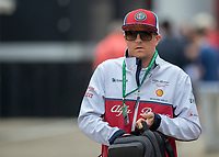 Kimi RÄIKKÖNEN (FIN) (ALFA ROMEO RACING) during the Formula 1 Rolex British Grand Prix 2019 at Silverstone Circuit, Towcester, England on 14 July 2019. Photo by Vince  Mignott.
